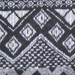 Ethnic black and white